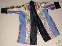 Chinese Silk and Satin Jacket