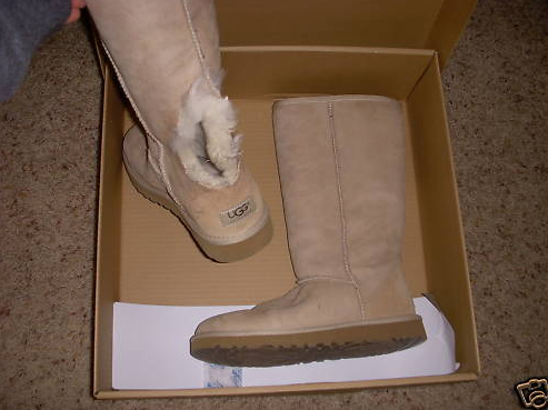 My husband bought me this pair of UGGs for my birthday. I had wanted them for 5 years and finally got some. I took them to my mom's and a few minutes ...